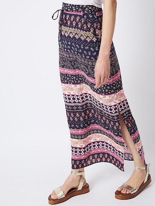 6b990949e Navy Printed Maxi Skirt | Women | George