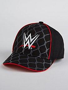 832ebf38fb109 WWE Black Contrast Trim Cap