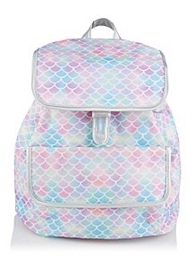 ec329e1ec4 Pink Mermaid Scale Rucksack