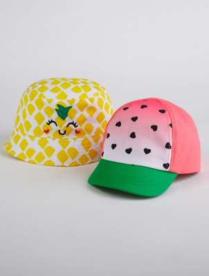 Fruit Sun Hats 2 Pack