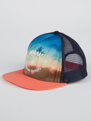 Miami Beach Baseball Cap
