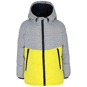 Grey Shower Resistant Padded Jacket