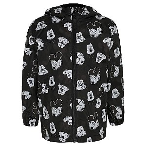 Disney Mickey Mouse Black Shower Resistant Jacket