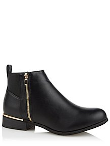5dce35a6622 Krush Black Ankle Boots