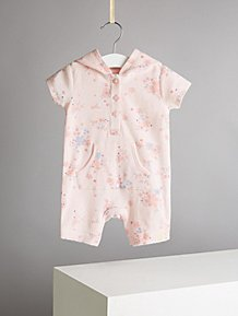 Bottoms George Baby Girl Cream Floral Trouser Jeans Age 12-18 Months Clothing, Shoes & Accessories