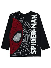 Marvel Spider-Man Black Long Sleeve Top 4cb405d6d