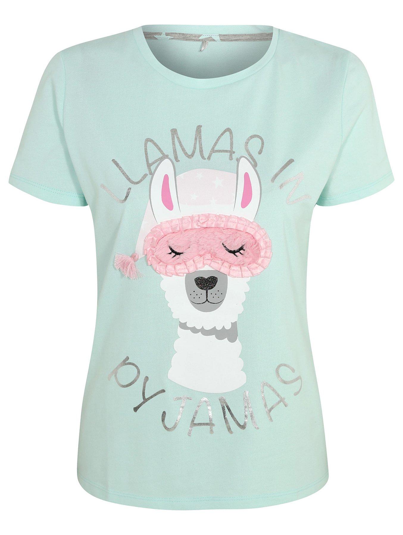 Green Llama Slogan Pyjamas. Reset 8f8452e76