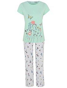 7b47f95e1 Pyjama Sets | Nightwear & Slippers | Women | George at ASDA