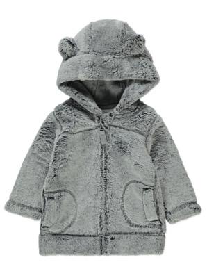 Faux Fur Hoodie