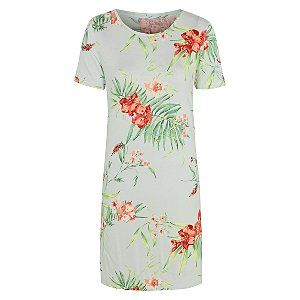 Floral Scoop Neck Nightdress