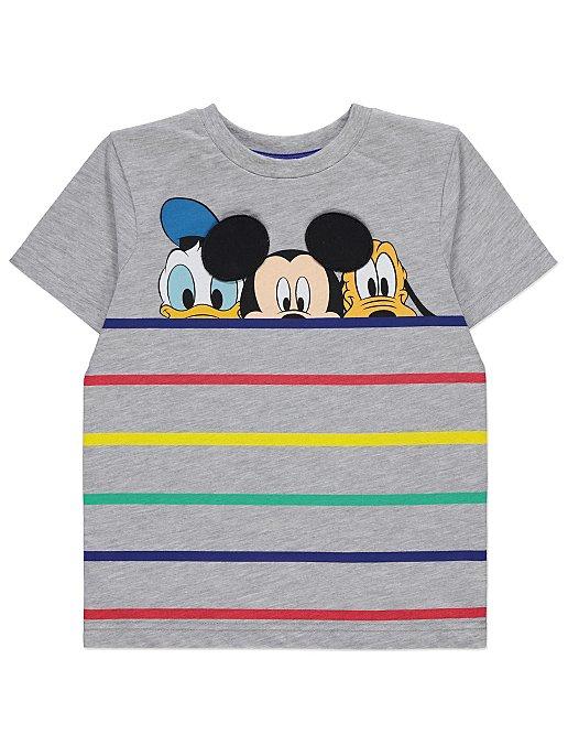 fab7358a Disney Grey Striped T-Shirt | Kids | George