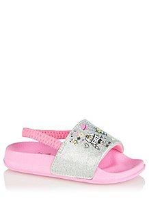 d0587ca1d7d3 Disney Toy Story Pink Pool Sliders