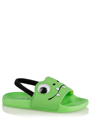 Green Frog Pool Sliders