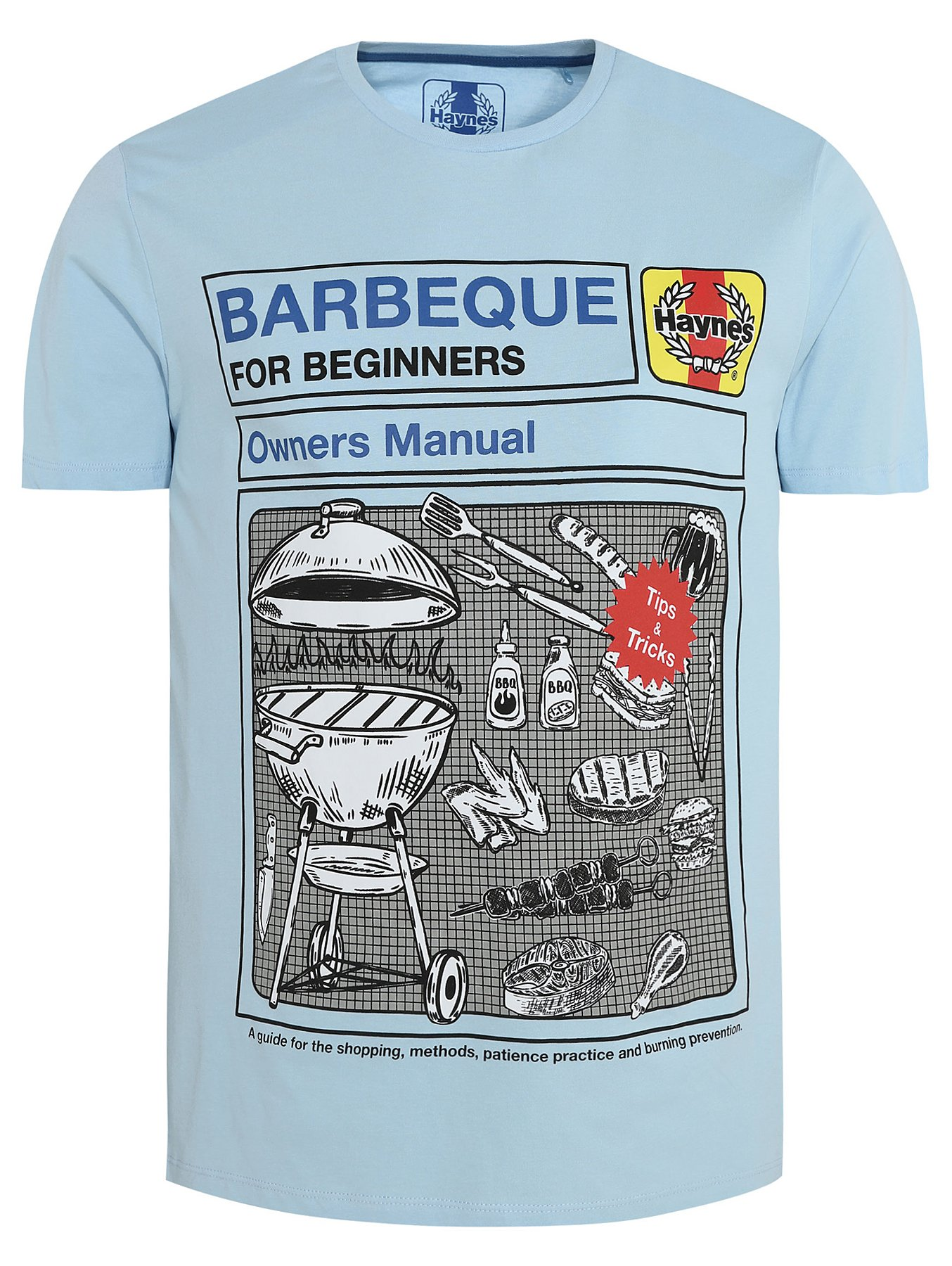 c27cd0448470 Haynes Barbeque For Beginners Short Sleeve T-Shirt | Men | George