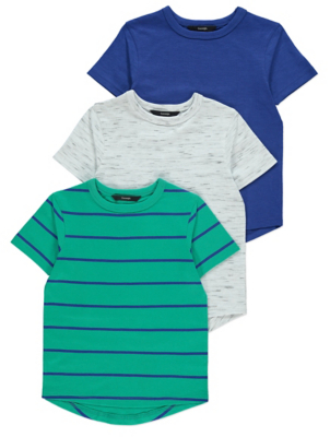 Striped T-Shirts 3 Pack