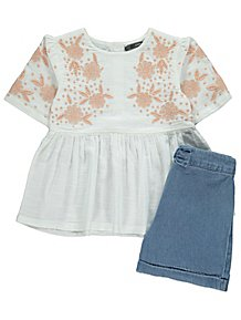 58b40a2fb Girl's Dresses & Outfits   Girls' Playsuits   George at ASDA