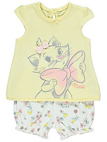 bc5cb692090c Disney The Aristocats Marie T-Shirt and Shorts Outfit