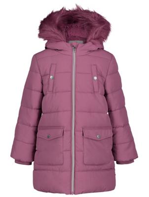 Purple Shower Resistant Padded Crinkle Coat