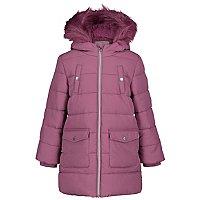 Purple Shower Resistant Padded Crinkle Coat by Asda