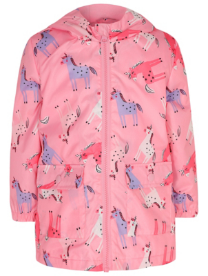 Pink Unicorn Print Shower Resistant Mac