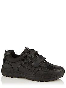 f09d989fd2 Boys School Shoes & Pumps - Boys School Uniform | George at ASDA