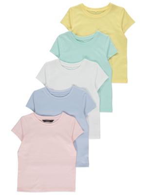 Short Sleeve T-Shirts 5 Pack