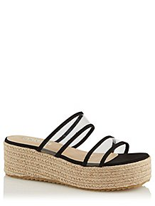 266573d38214 Krush Black Espadrille Flatform Sandals