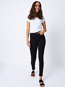 3c8195b8b06 Black Denim Skinny Jeans