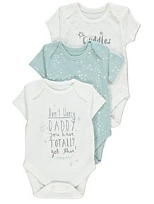 feaa6c2b74 Girls Baby Bodysuits | Girls Bodysuits | George at ASDA