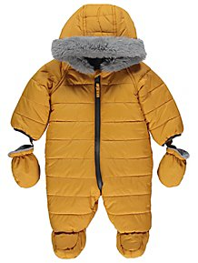 6a24082ecf6 Baby Boys Coats & Pramsuits | George at ASDA