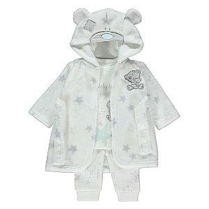 Tiny Tatty Teddy 3 Piece Pyjama Set