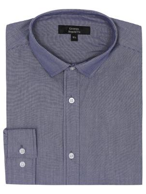 Blue Striped Long Sleeved Shirt