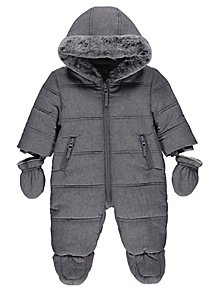 wide selection of colours and designs fashionable style huge selection of Baby Boys Coats & Pramsuits | George at ASDA