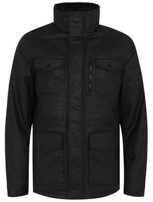 Black Wax Effect Coat