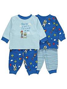 cc29db83fde2d Baby Boys Sleepsuits & Pyjamas | George at ASDA