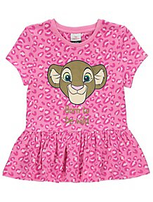 d08a80c0e495 Disney The Lion King Nala Foil Leopard Print T-Shirt
