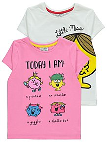 9360a4190e250d Tops & T-Shirts | Girls 1-6 Years | Kids | George at ASDA