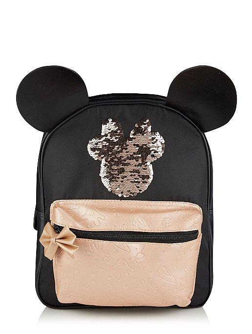 Disney Minnie Mouse Sequin Rucksack Kids George At Asda