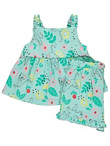 1d72a63a83 The Lion King Blue Cami and Shorts Outfit