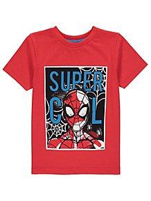 384afa59d Marvel Comics Spider-Man Red Graphic T-Shirt