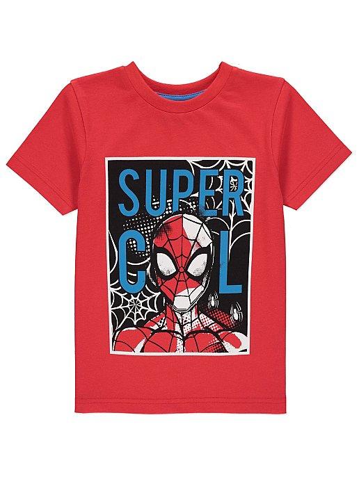 0af22a9e Marvel Comics Spider-Man Red Graphic T-Shirt | Kids | George