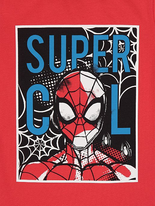 eccb5b196 Marvel Comics Spider-Man Red Graphic T-Shirt   Kids   George