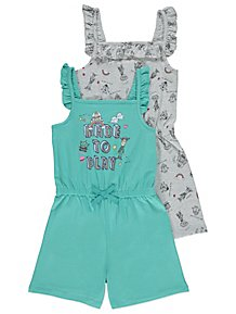 71c803fb6 Girl's Dresses & Outfits | Girls' Playsuits | George at ASDA