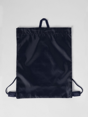 Navy Mesh Insert Swim Bag