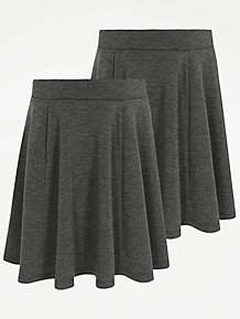 78ba182d8391 Girls School Skirts | Pleated Skirts | George at ASDA