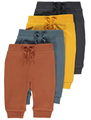 Colourful Jogging Bottoms 4 Pack