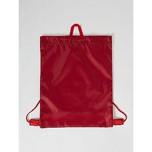 Red Mesh Insert Swim Bag