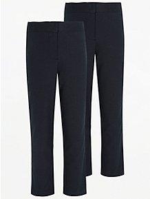 58ebdce69932 Girls School Trousers - Girls School Uniform | George at ASDA