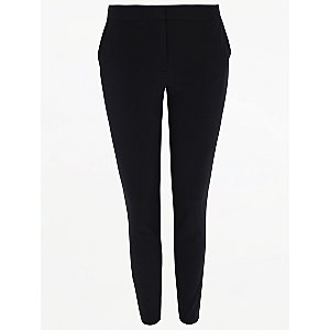 Senior Girls Navy Slim Leg School Trousers