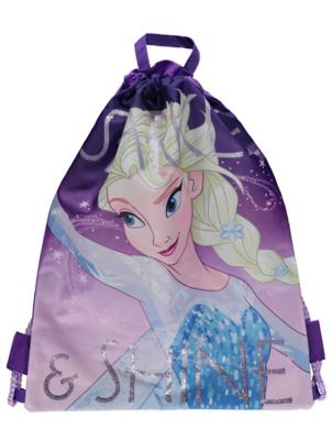 Disney Frozen Elsa Purple Swimming Bag